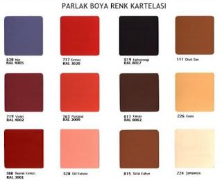 polisan duvar rengi katalogu 430x349 Polisan renk kataloğu