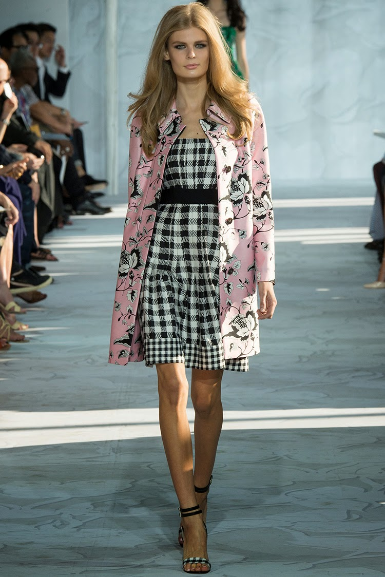 Diane von Furstenberg Spring 2015 Collections Part 1