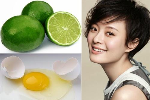 Điều trị nám da mặt bằng lòng trắng trứng