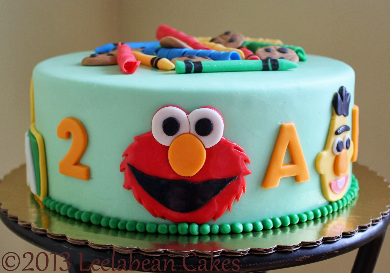 Leelabean Cakes Celebration Cakes Sesame Street Party