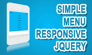 Simple Menu Responsive Dengan JQuery