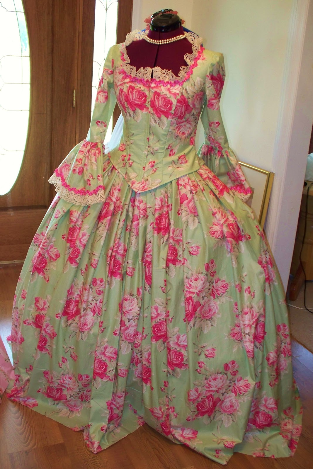 Marie Antoinette French Colonial Panniers Dresses and Gowns: Marie ...