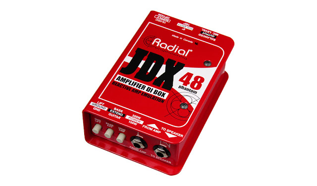 Radial Engineering JDX-48 Reactor Guitar Amp Direct Box