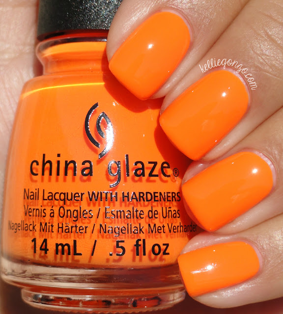 China Glaze Lady and the Vamp