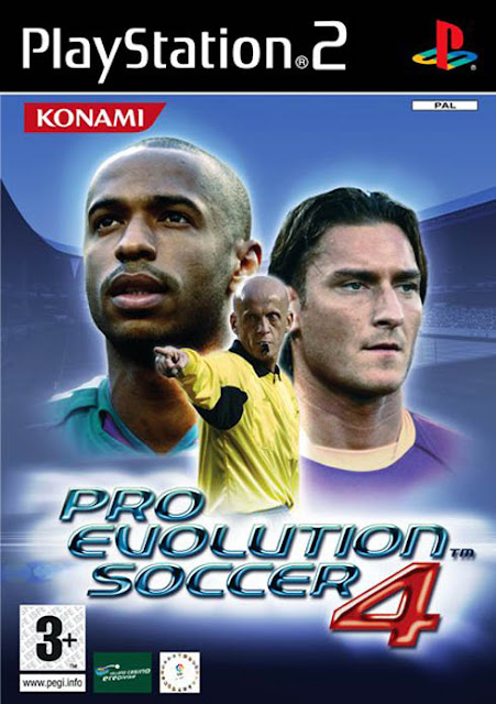 PES 4 Totti Henry Collina