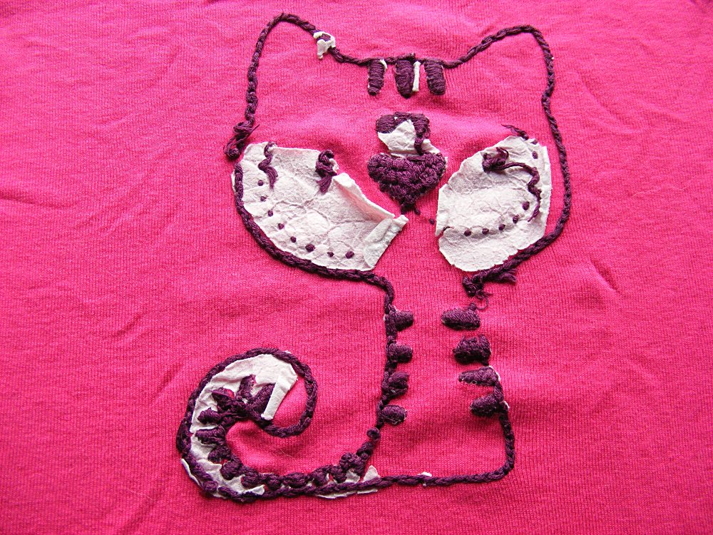 Do i need to anything special embroider a t shirt