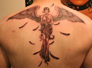 The Popular Angel Tattoos Design