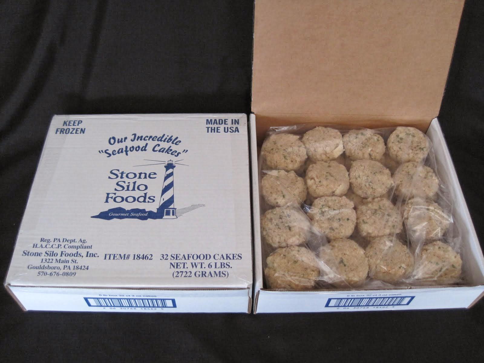 Stone Silo Seafoods Cakes w/Shrimp, Crab, & Scallop 3 oz -32 ct - Item # 20316