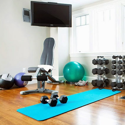 Livewell vermont how to build a low cost home gym for Cost of building a gym