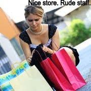 Nice store. Rude staff.