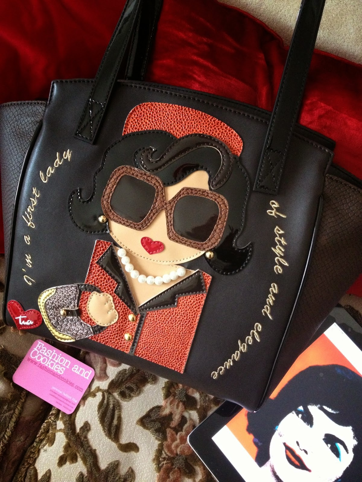 Braccialini Icons, Braccialini Tua, Jackie Kennedy bag, Fashion and Cookies, fashion blogger