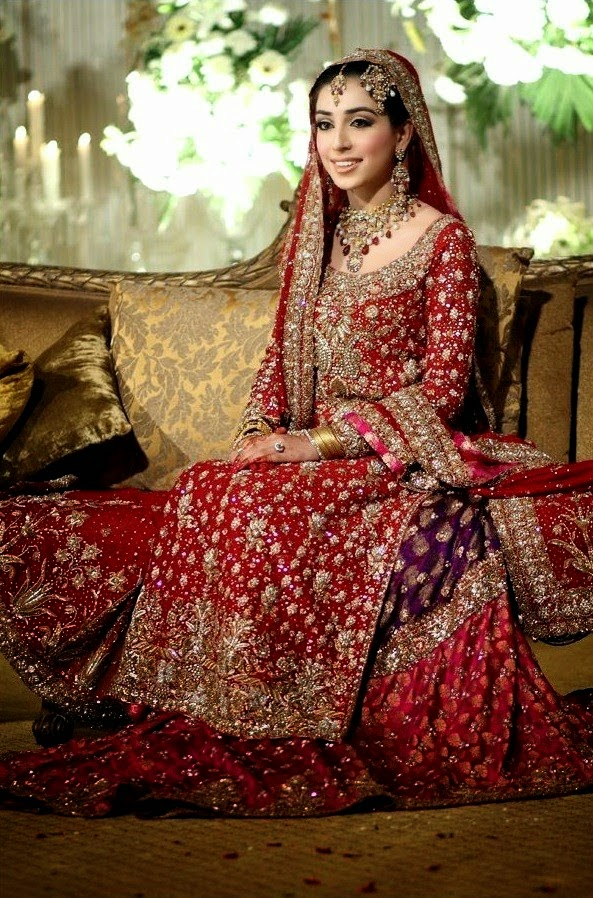 Bridal Dress Collection 2014 by Bunto Kazmi