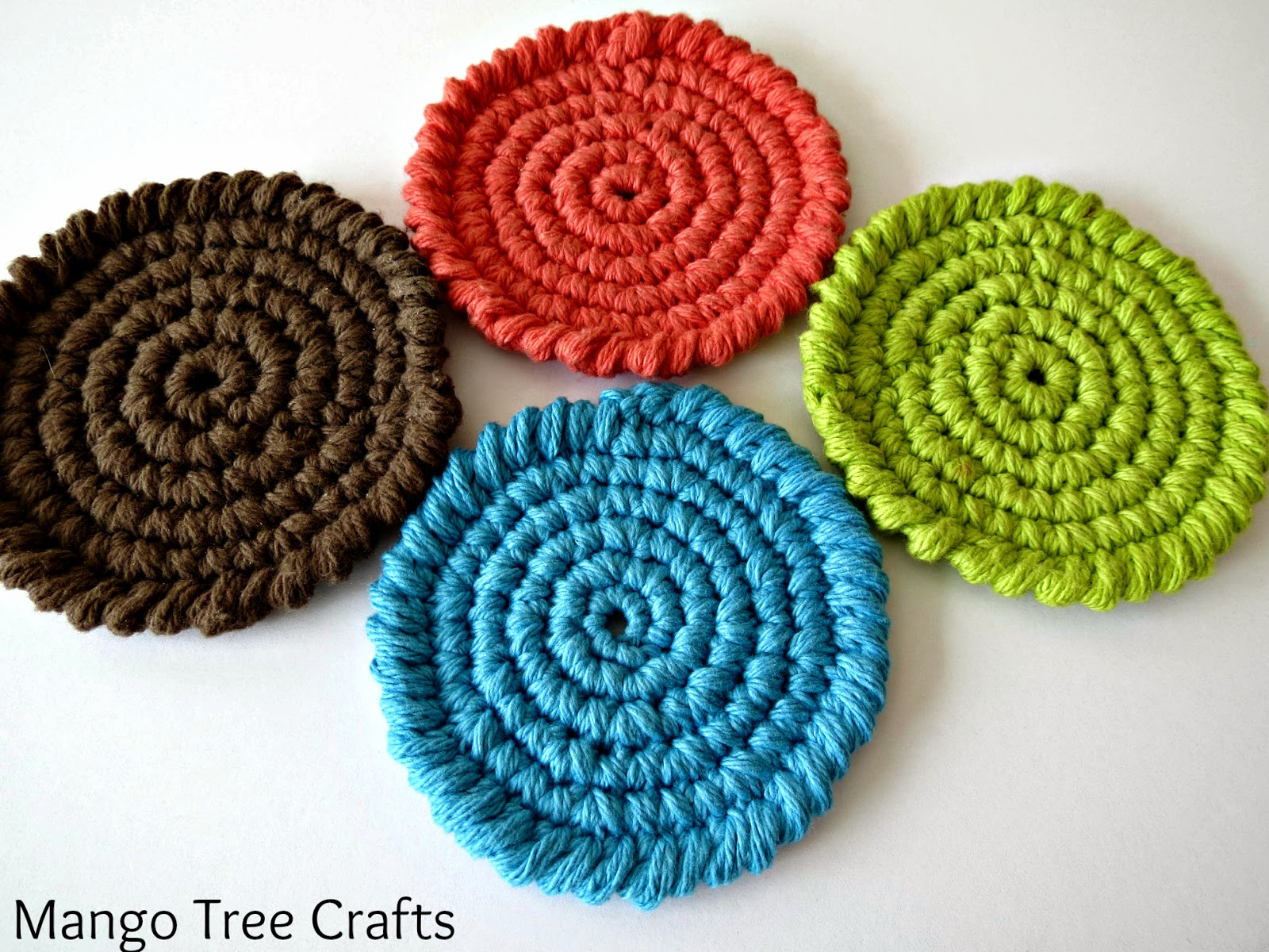Crocheting Coasters : Crochet Coasters Free Pattern
