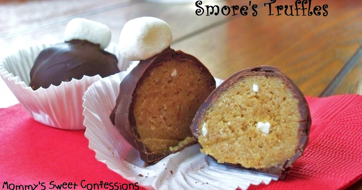 MOMMY'S SWEET CONFESSIONS: S'mores Truffles