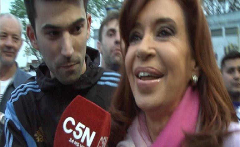El Cadete y una desopilante entrevista con Cristina