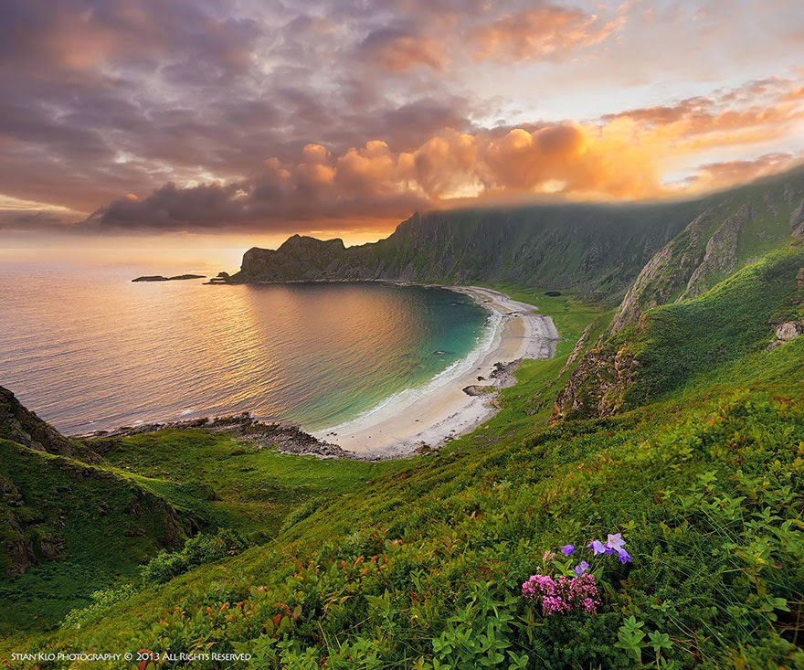 Hoyvika Beach on Andøya, Vesteralen - 23 Pictures Prove Why Norway Should Be Your Next Travel Destination