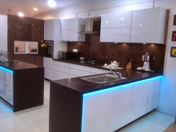 Modern Small Kitchen Design in India Ideas