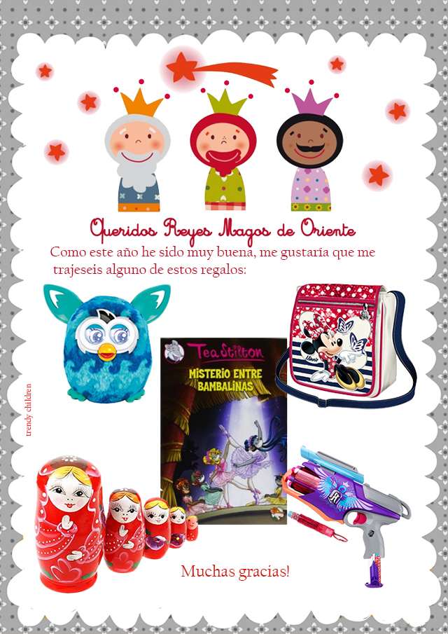carta reyes magos blog de moda infantil trendy children