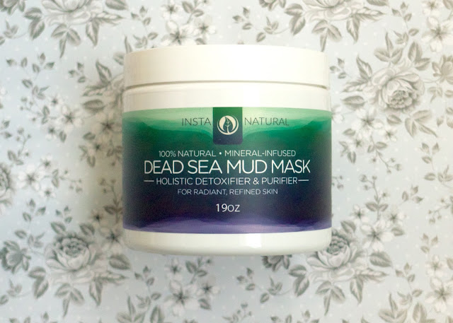 Insta Natural Dead Sea Mud Mask Review from Amazon
