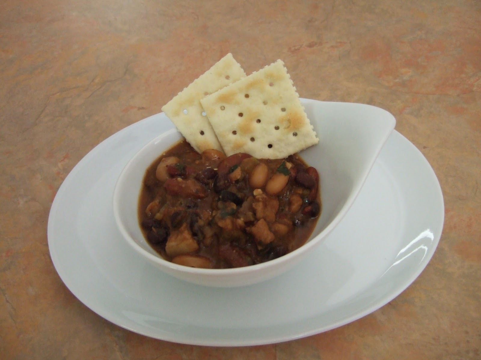 Easy Life Meal and Party Planning: Three Bean Pork Chili with Adobo ...