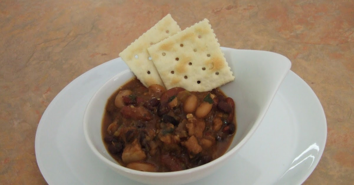 Easy Life Meal and Party Planning: Three Bean Pork Chili ...
