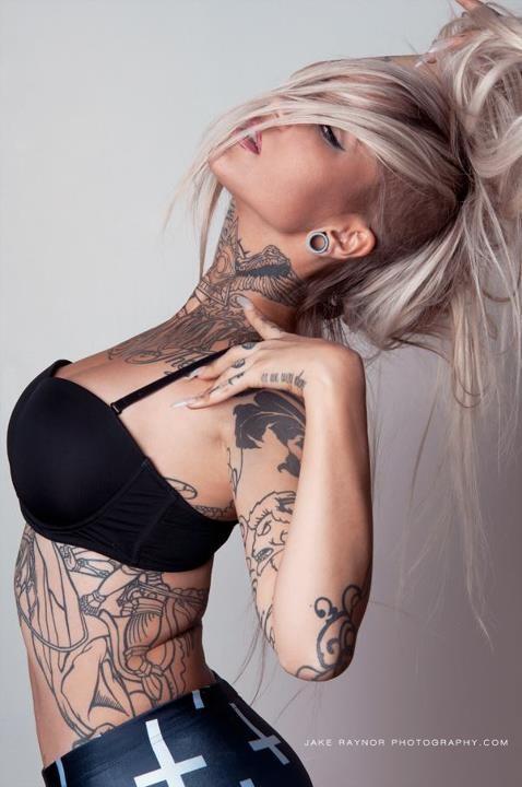 Mulheres tatuadas (fotos)