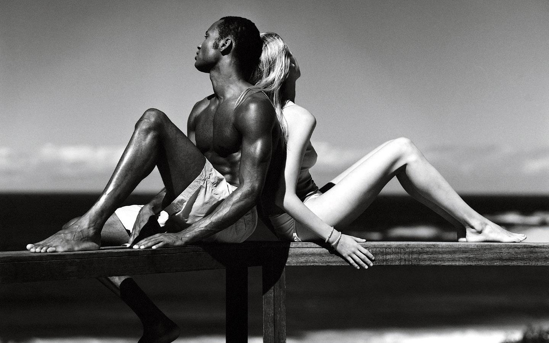 erotic black men white women sex