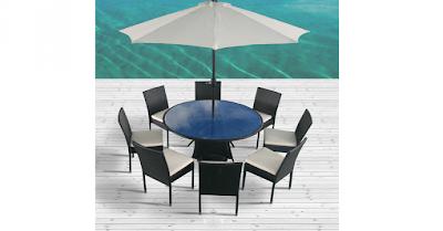 concept usine salon jardin parasol