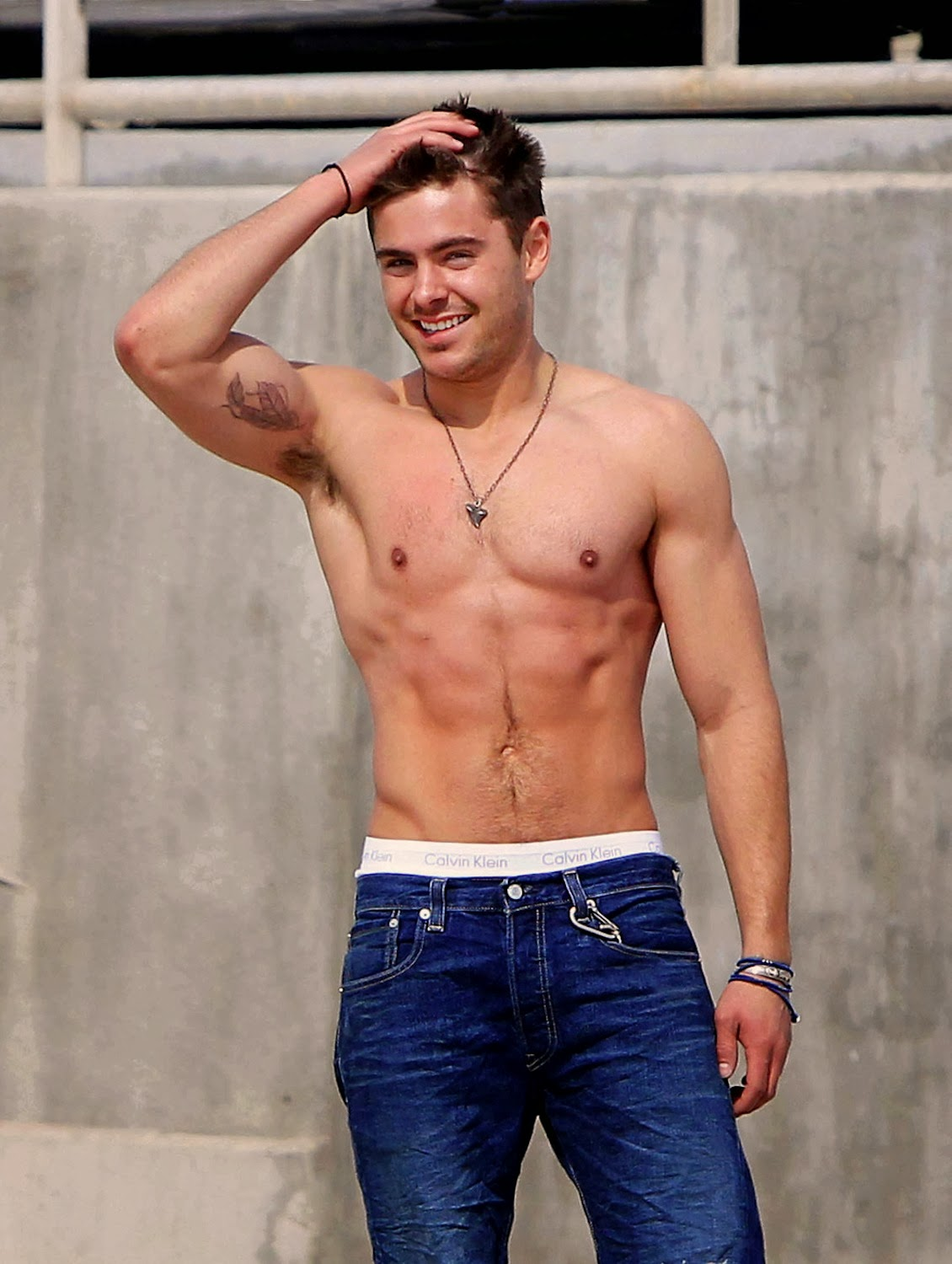 Girl. zac efron big bulge