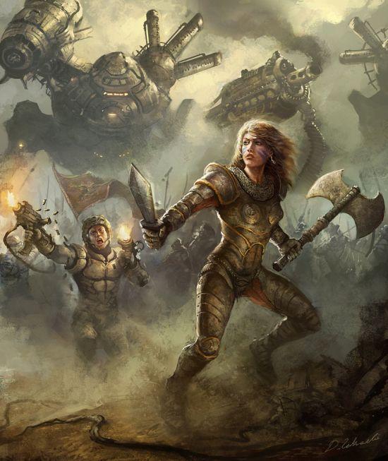 Darek Zabrocki daroz deviantart ilustrações arte conceitual fantasia games Encare o futuro