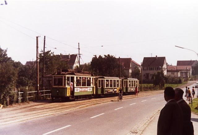 Rommelsbach Stra Enbahn Drei Der Drei
