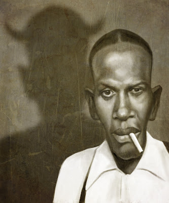 Mark Hammermeister Robert Johnson Painting