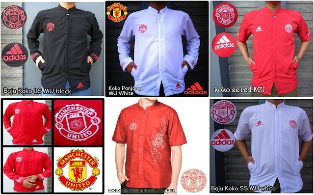 Baju Muslim Koko Bola Manchester United