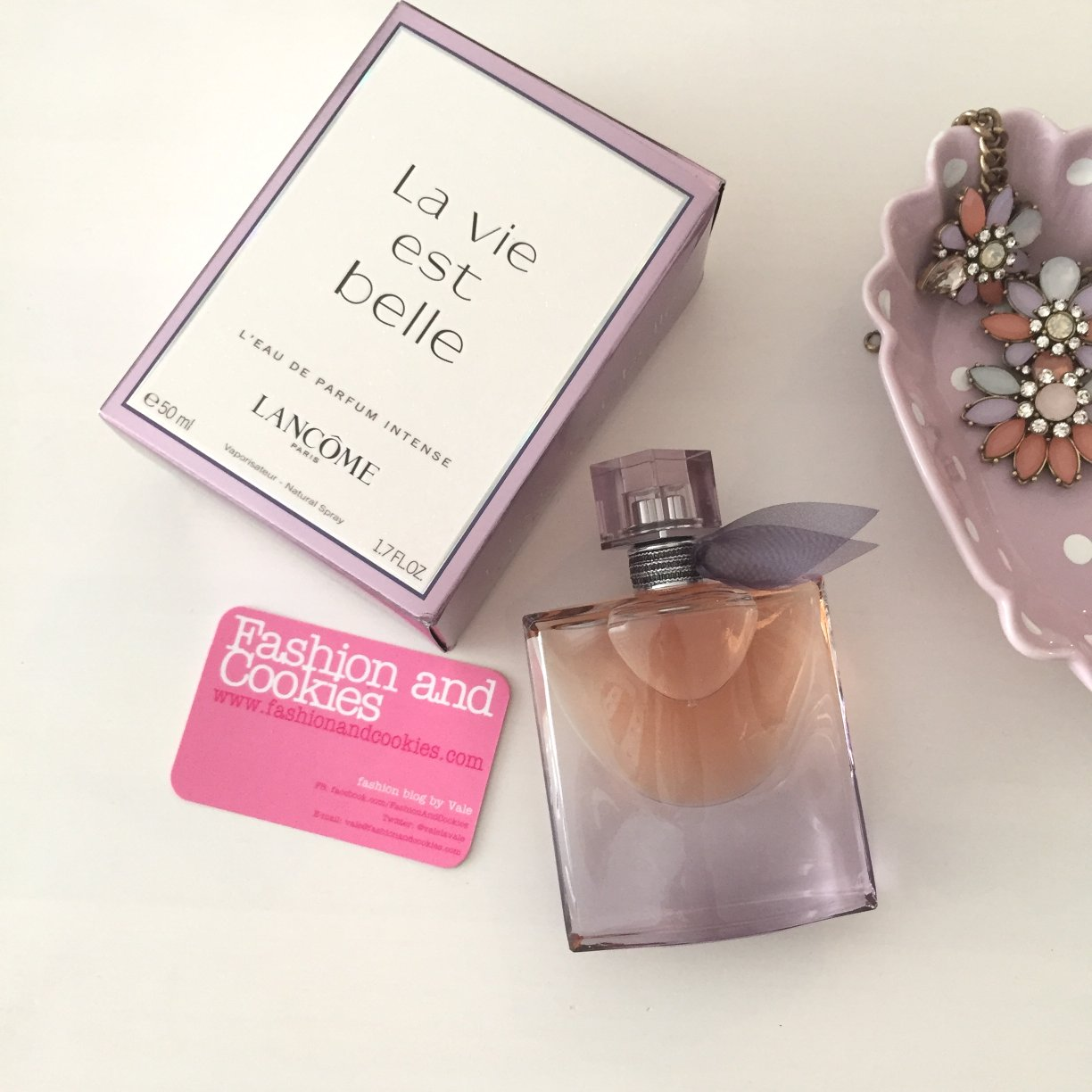 Lancôme La Vie Est Belle, Eau de Parfum Intense on Fashion and Cookies fashion and beauty blog