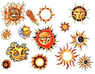 Dicas de Tatuagens de Sol