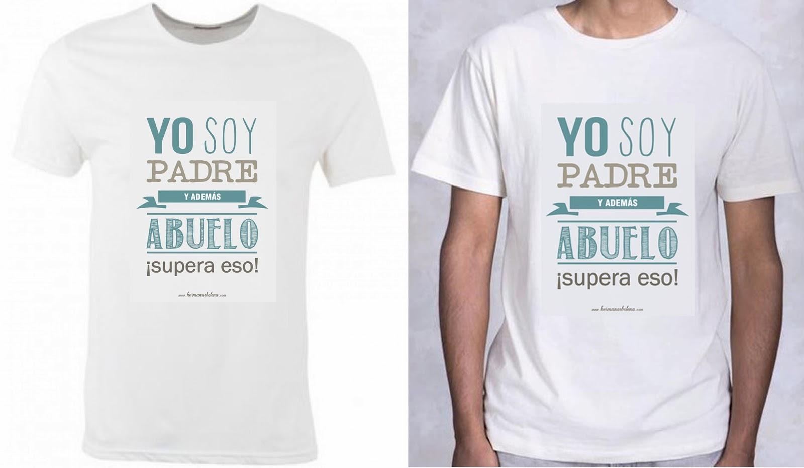 día del padre regalos originales camisetas hermanas bolena
