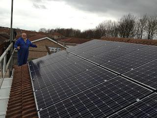 16 x 240w Solar panels