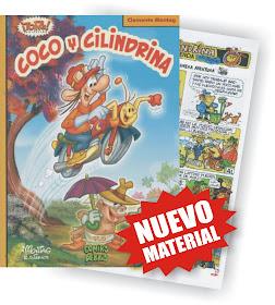 """""""Coco y cilindrina"""" del ilustrador Clemente Montag"""
