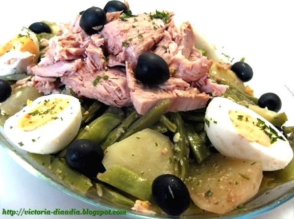 D a a d a ensalada de judias verdes - Ensalada de judias verdes arguinano ...