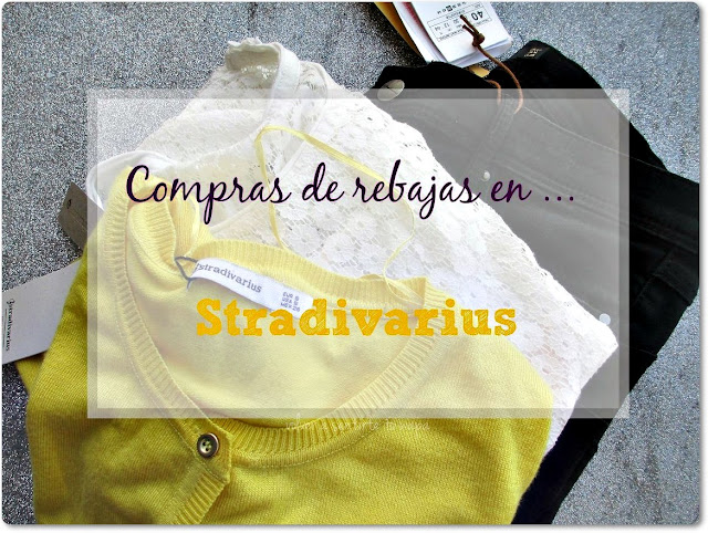 Compras de REBAJAS en STRADIVARIUS
