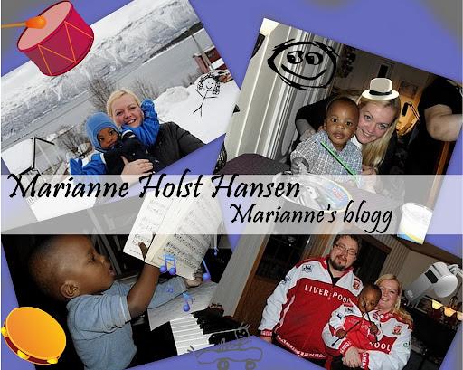 Mariannes blogg