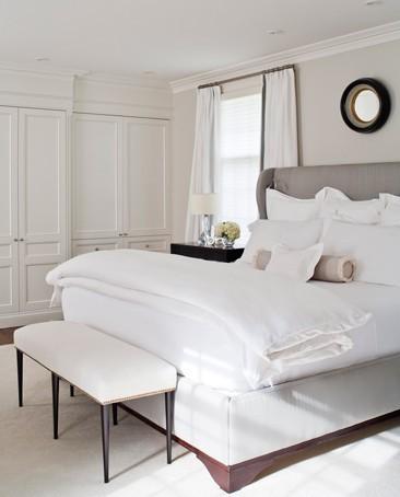 Dormitorio color blanco dormitorios con estilo - Dormitorio en blanco ...