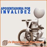 A aposentadoria por invalidez no INSS.