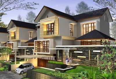 model desain rumah mewah modern minimalis model rumah