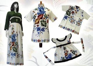 baju gamis batik sarimbit