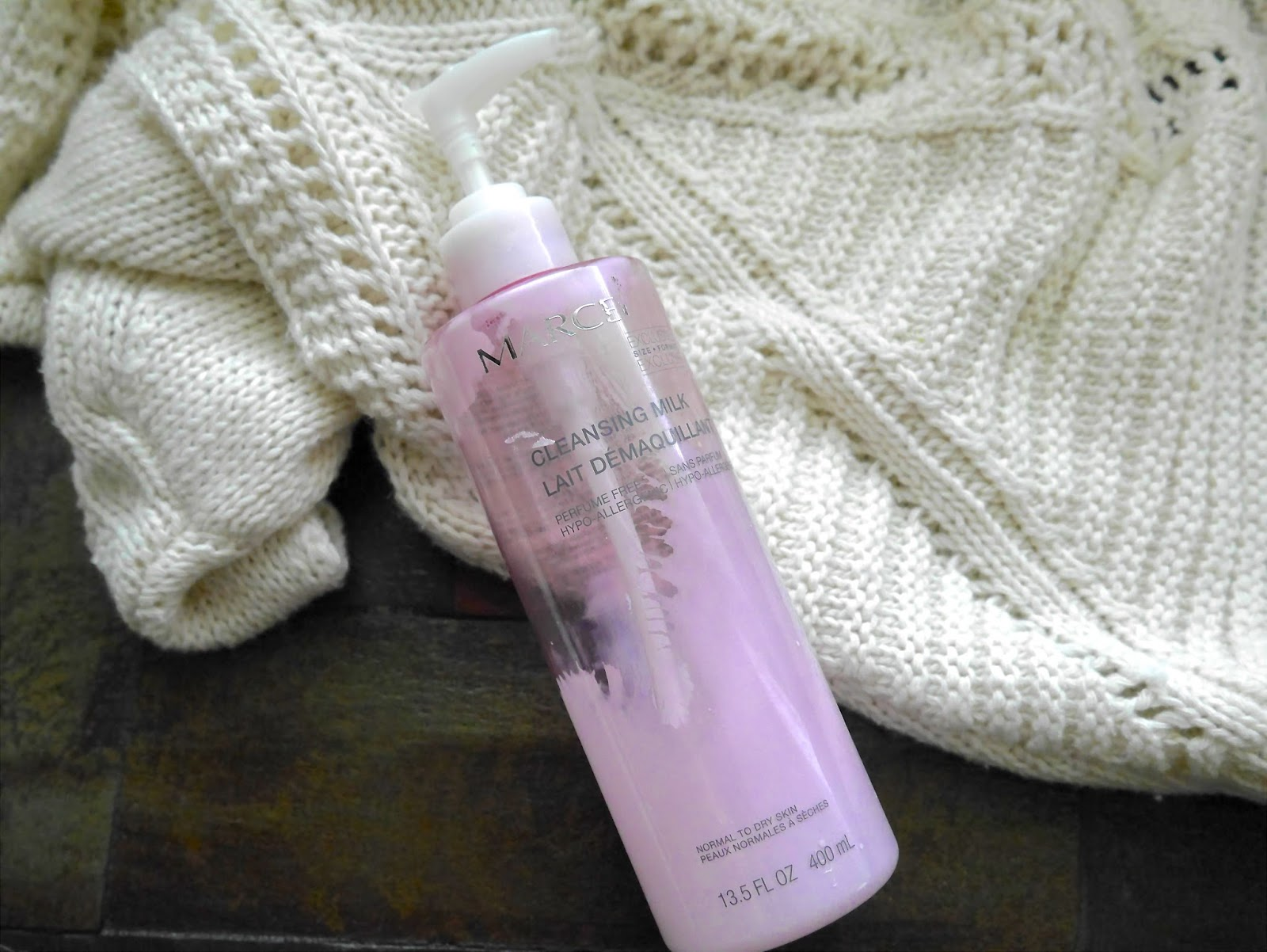 Marcelle Milk cleanser
