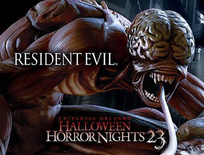 Resident Evil alla Halloween Horror Nights 23 di Orlando