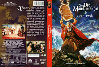 Carátula: Los diez mandamientos (1956 - The ten commandments)