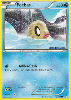 Feebas Dragons Exalted Pokemon Card