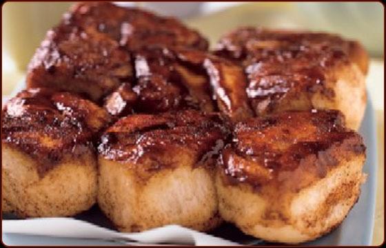 Cinnamon Pull-Apart Fantails Recipe — Dishmaps